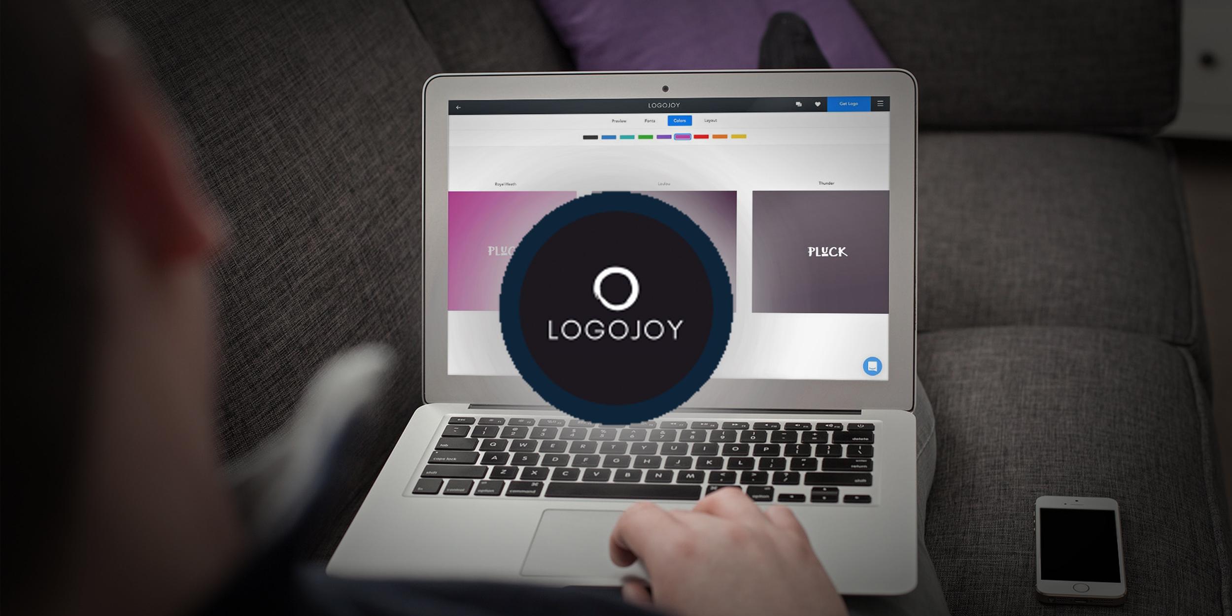 Logojoy поможет за 5 минут создать логотип для вашего проекта