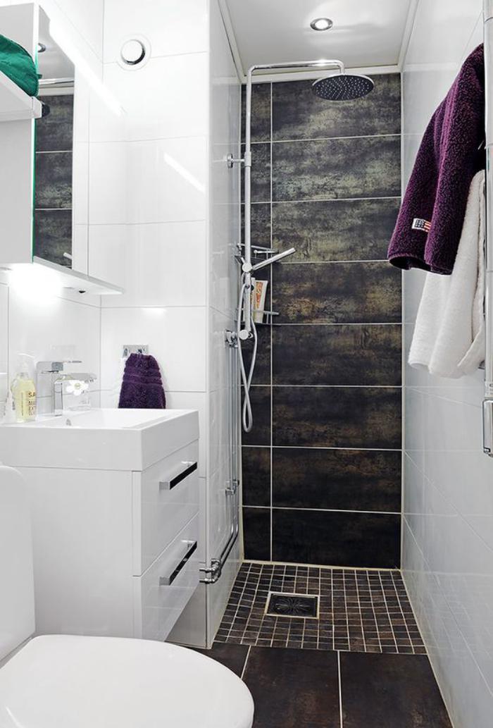 Ванная комната дизайн 6 кв м санузел совмещенный с душевой кабиной