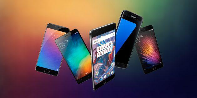 Лучшие Android-смартфоны 2016 года по версии AnTuTu