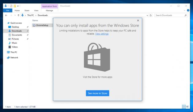 Windows 10: Windows Store