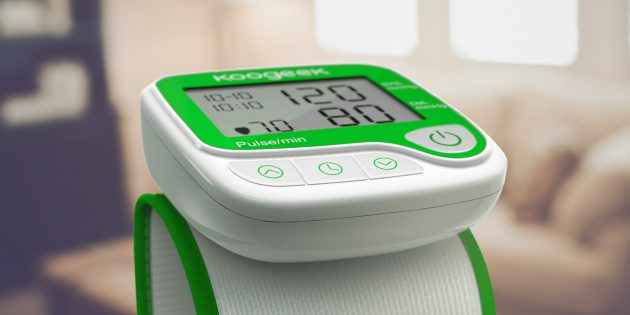 Обзор умного тонометра Koogeek Smart Wrist Blood Pressure Monitor