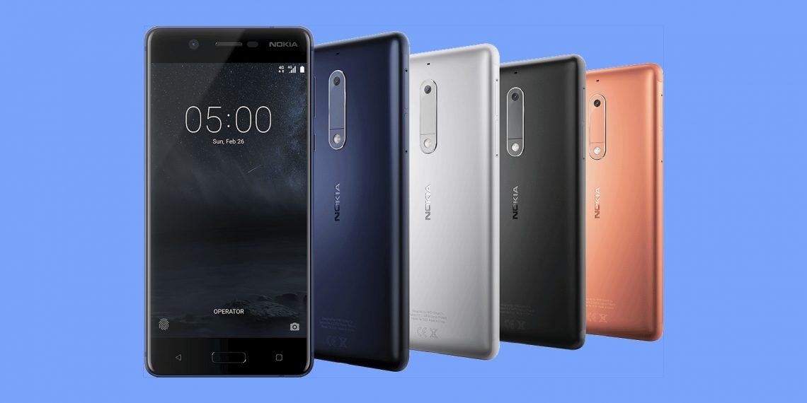 Новая линейка смартфонов Nokia на MWC 2017