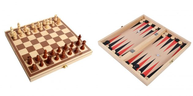 Шахматы и нарды: 2 в 1