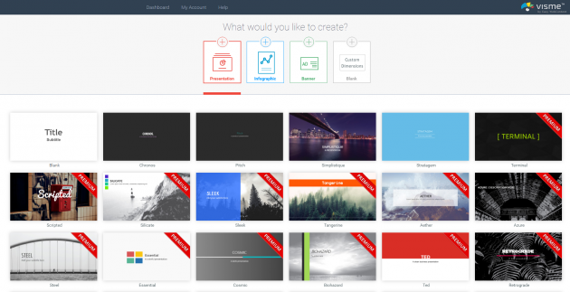 Онлайн-конструкторы презентаций: Visme