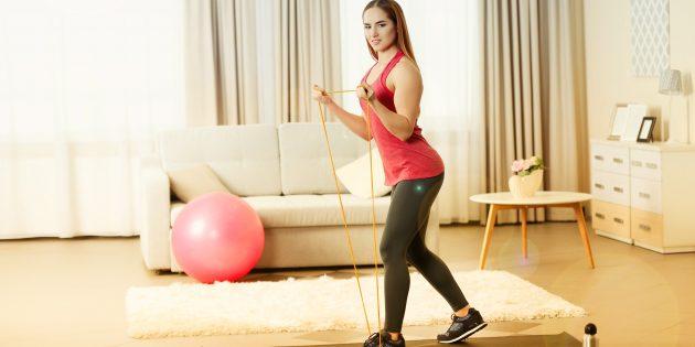 Силовая тренировка с эспандером: упражнения на все группы мышц