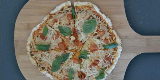 Как приготовить тесто для пиццы: Моментальное тесто на йогурте