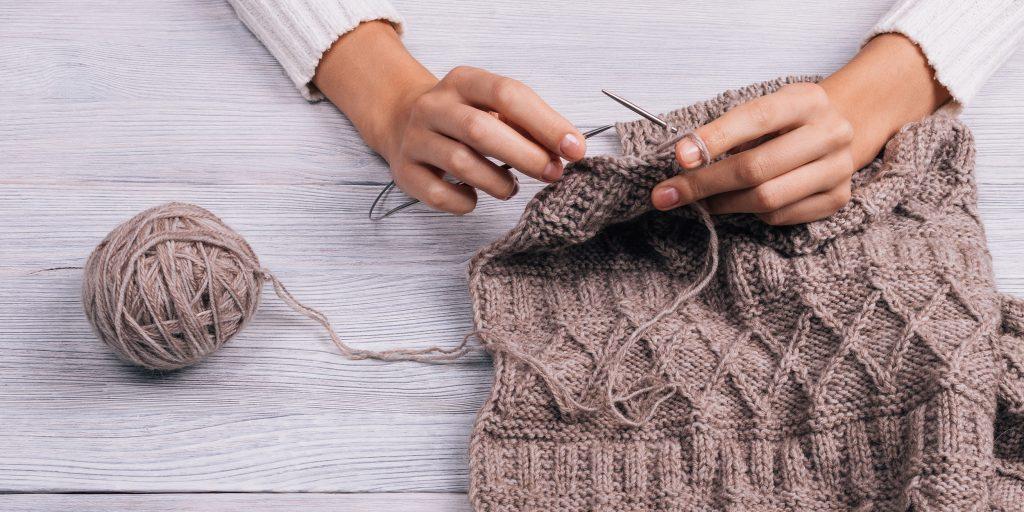 Как вязать спицами для вязания жгутов