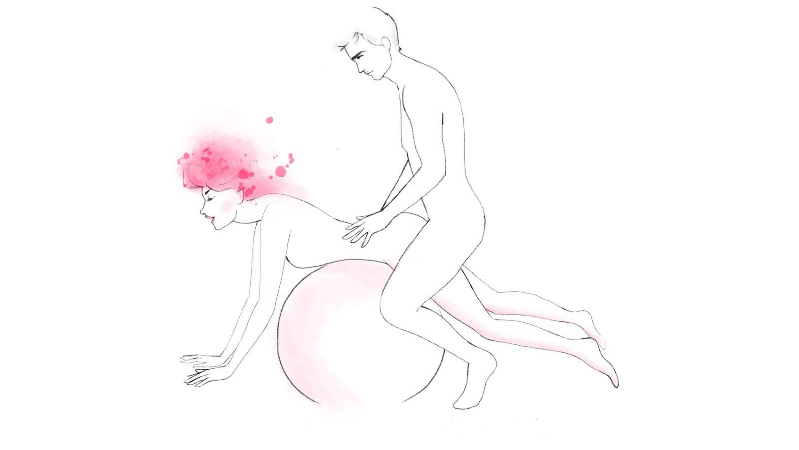 необычная поза секса