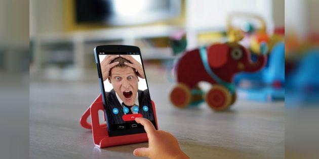 Touch Lock для Android — простой блокировщик экрана от детей