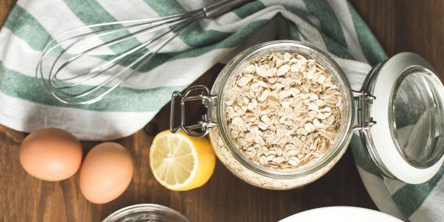 3 рецепта овсянки с яйцами