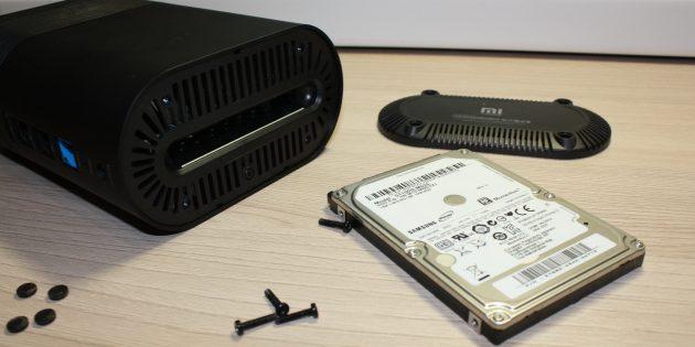 Xiaomi R1D: жёсткий диск