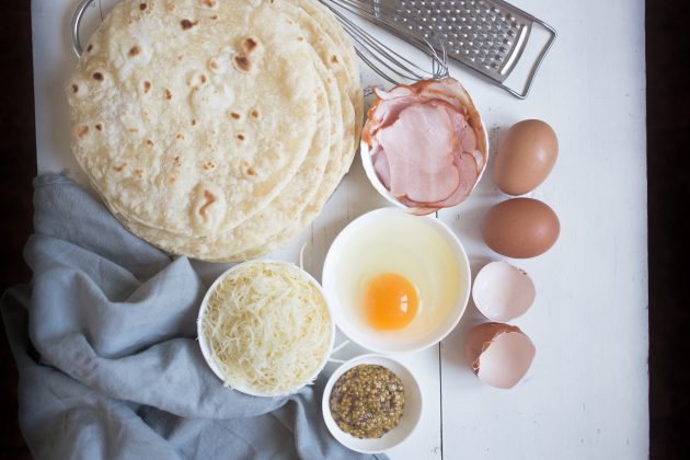 Рецепт кесадильи на завтрак