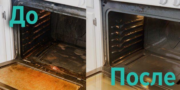 Как сделать средство для очистки духовки самостоятельно