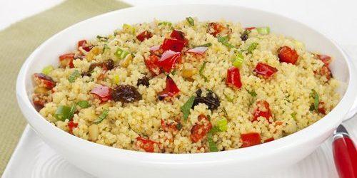 рецепты для вегетарианцев: кускус с овощами