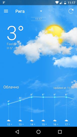 Weather Wiz: погодные условия