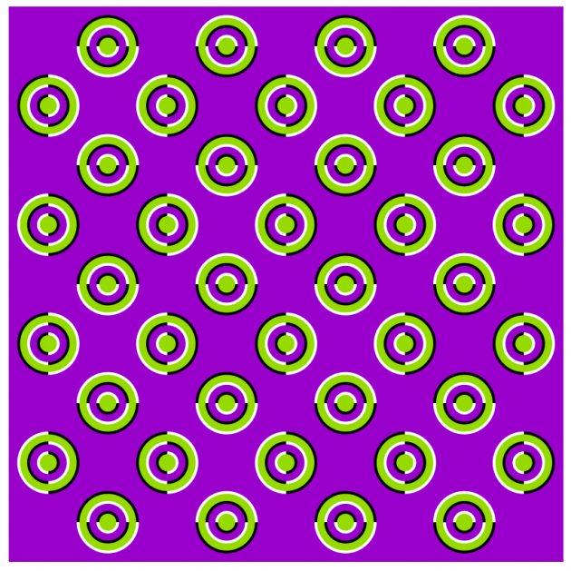 оптичні ілюзії: кнопки