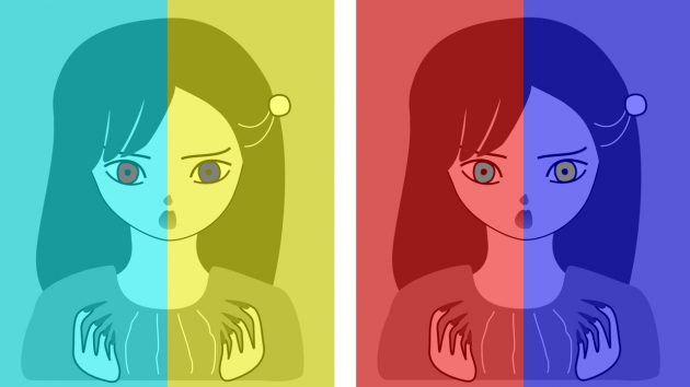оптические иллюзии: глаза