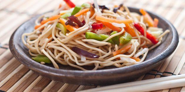 3 вкусных и простых блюда из лапши