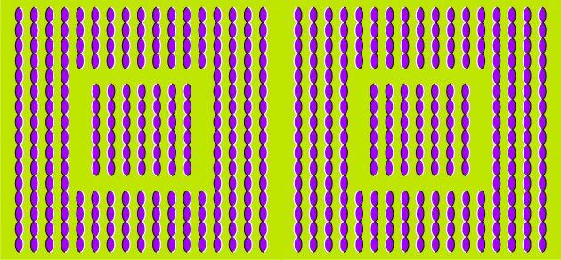 оптические иллюзии: линии