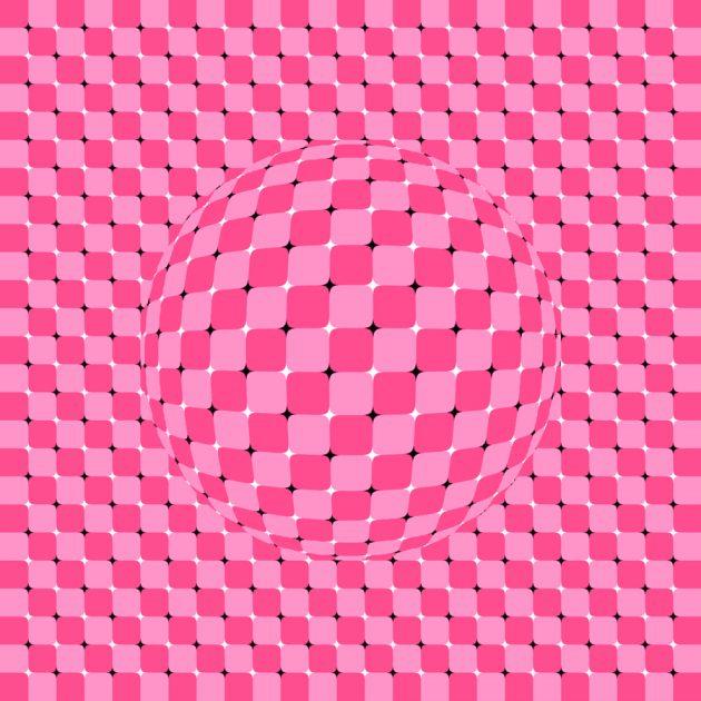 оптические иллюзии: шарик