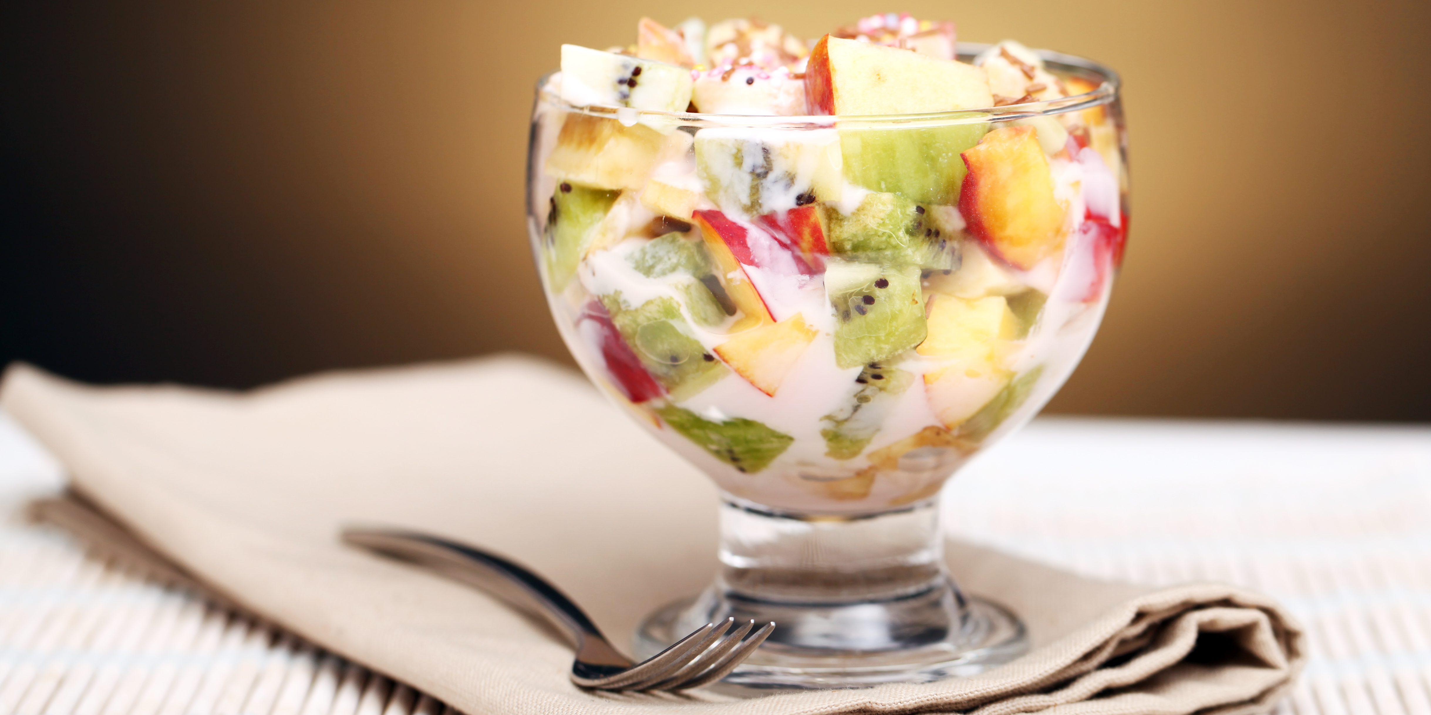рецепт фруктового салату