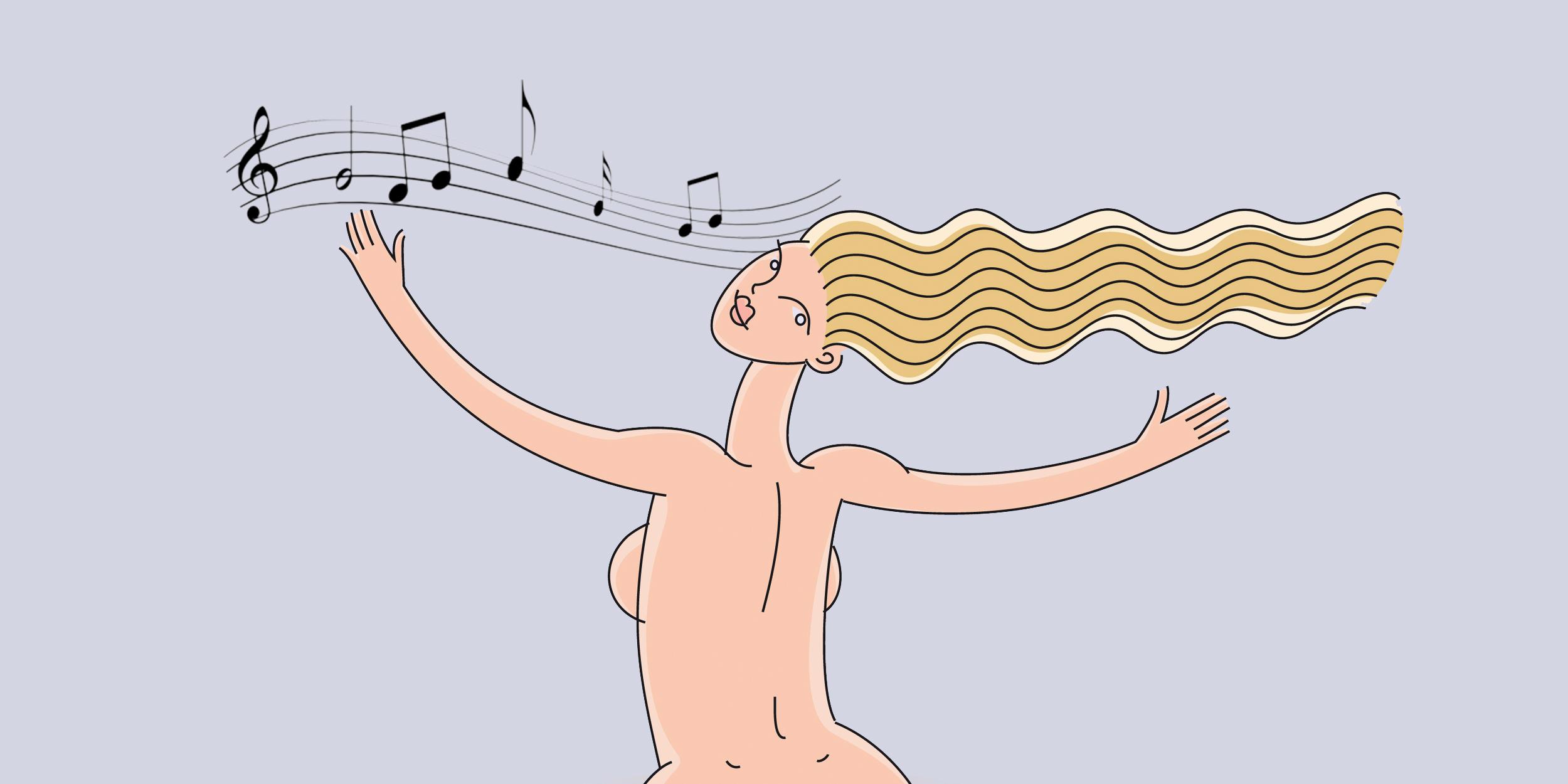 Оргазм при менструации