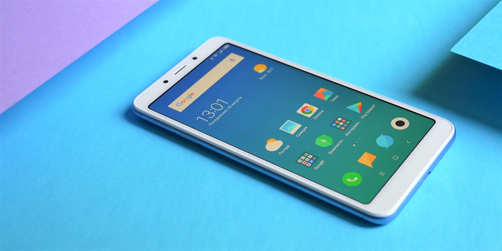 Обзор Xiaomi Redmi 6 — нового хита среди бюджетных смартфонов - Лайфхакер aeb6178d0b78c