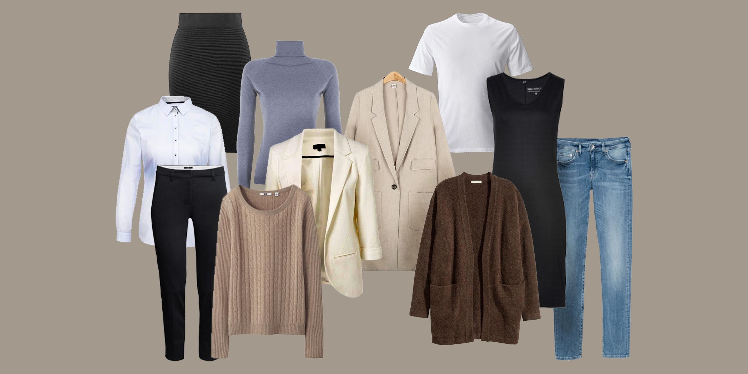 b93160bd2946 Как собрать базовый гардероб: подробный чек-лист для женщин и мужчин ...