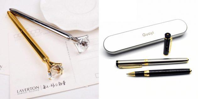 Подарки коллеге на 8 марта: ручка