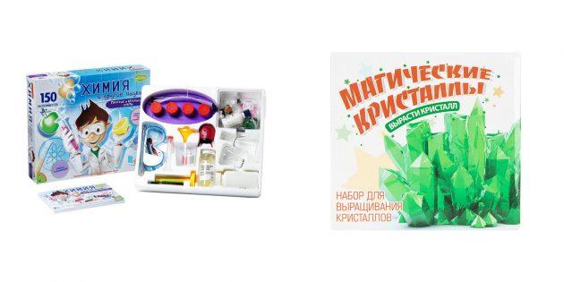 Крутые подарки мальчику на 23Февраля: Набор опытов и экспериментов