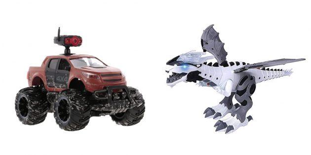 Крутые подарки мальчику на 23Февраля: Роботы и радиоуправляемые игрушки