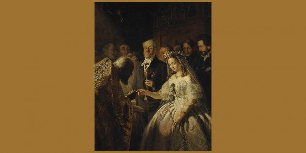 Вопрос из шоу «Слабое звено»: кто был старше на картине В. В. Пукирева «Неравный брак»: жених или невеста?