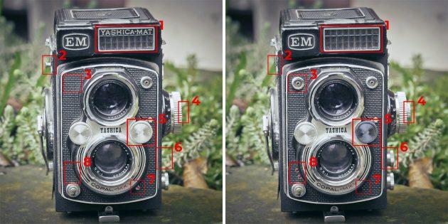 Найдите отличия на картинках