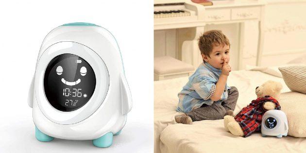 Электронный будильник с режимами сна для детей