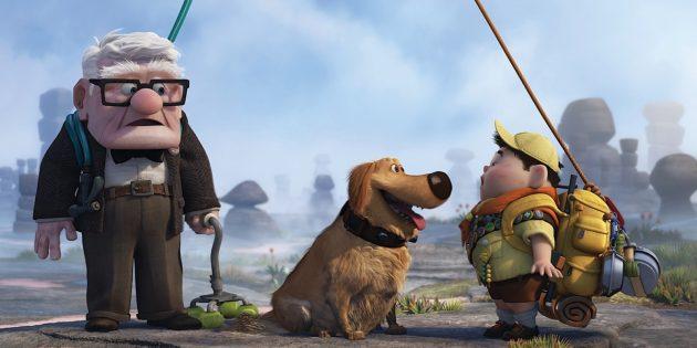 Мультфильмы Pixar: «Вверх»